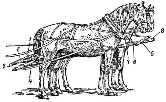Подпруги западного типа (хаки)